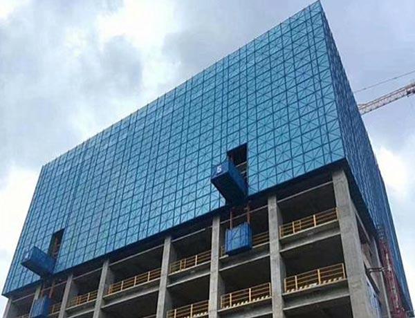 建筑爬架案例